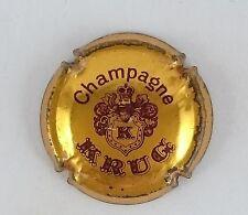 capsule champagne KRUG n°33 or et  marron