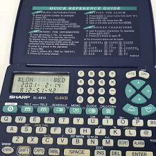 Sharp EL-6810 Electronic Organizer 64KB