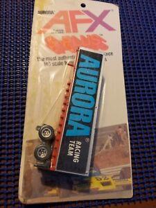 Vintage Aurora AFX #1171 Semi Trailer New On Card