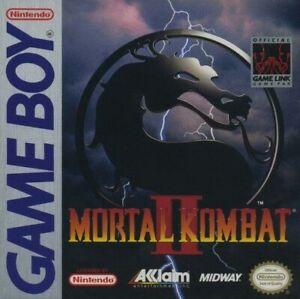 Mortal Kombat 2 II Nintendo Game Boy