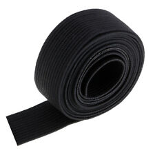"""50mm 2/"""" Elastic Wide Flat Black or White strong woven Sewing Dressmaking Cuffs"""