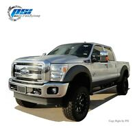 Extension Style Fender Flares Fits Ford F-250, F-350 Super Duty 11-16 Textured