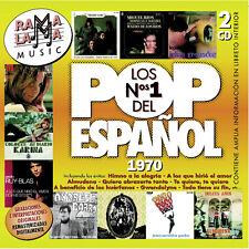 LOS Nº1 DEL POP ESPAÑOL 1970-2CD
