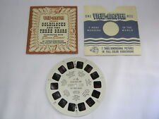Goldilocks and The Three Bears Ft. 6 Old Sawyer's Viewmaster Reel T*