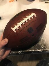 "Official Wilson Nfl ""The Duke� Football Authentic Game Ball Leather Amazing Grip"