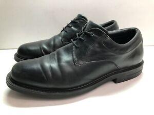 Red Wing Men's Sz 14 D Readiflex Black Leather Work Oxford 4070 EXCELLENT EUR 48
