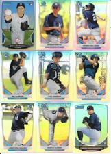 NEW YORK YANKEES (18) CARD BOWMAN CHROME REFRACTOR ROOKIE LOT SEE LIST & SCANS