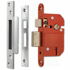 2xera 5 Lever Sashlock Sash Lock Bs3621 British Standard Insurance