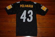 07a5b38a0 Reebok #43 Troy Polamalu Pittsburgh Steelers NFL Jersey (Youth Large)
