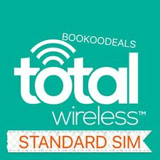 Total Wireless 4G Standard / Micro Dual Compatible Sim Card Cell Phone