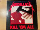 Metallica Kill'em All (1983, Vinyl) Megaforce Records Pressing RARE