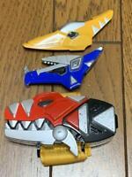 Power Rangers Dino Thunder Abaranger Dino Brace toy morpher BANDAI Japan