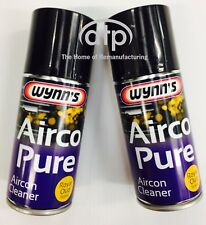 WYNNS AIRCO PURE AIRCON CLEANER ROYAL OUD SCENT VALET BOMB FOGGER TYPE TWIN PACK