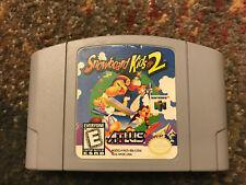 Snowboard Kids 2 Nintendo 64 N64 Game Cartridge Tested Rare Authentic