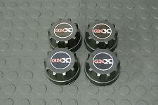 American Racing / Enkei 92 Wheel Rim Center Caps 89 8064 with GNX Logo Set (4)