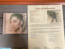 ariana grande signed positions cd James Spence JSA Certified