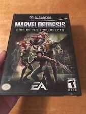 Marvel Nemesis Nintendo Gamecube..Complete AUTHENTIC.Original. Excellent Disc