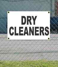 2x3 Dry Cleaners Black Amp White Banner Sign New Discount Size Amp Price Free Ship