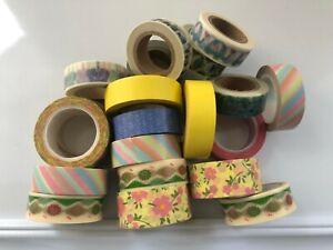 Bulk Japanese Washi Tape - 5 x Assorted washi tape