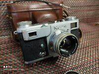 VERY RARE Kiev-2 Soviet 35mm Rangefinder Antique Camera Contax clone SN546635