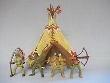 Indianer  - Tipi - Wilder Westen  - altes Spielzeug 70er - Konvolut  - Sammlung