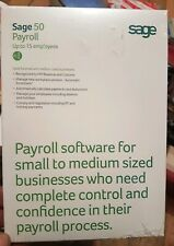 SAGE 50 Payroll - 15 users New Sealed