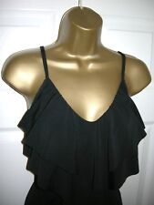 12 SWIMSUIT KIRKLAND MIRACLESUIT TANKINI AND BOTTOMS CONTROL BLACK LAYER TOP NEW