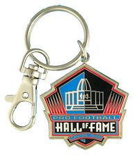 Commemorative NFL Pro Football Hall of Fame Canton Ohio Metal Logo Key Chain