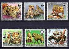 Animaux sauvages Haute Volta (76) série complète 6 timbres oblitérés