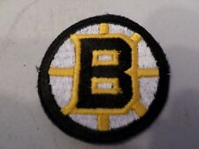 "Boston Bruins  NHL Logo  / Crest Patch 2"" Inch Round Iron On/ Sew On Patch NOS"