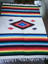 "58"" X 84"" Tribal Southwestern Area Rug"
