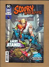 SCOOBY APOCALYPSE  #25 COVER A & B VARIANT DEATH OR FRED DC COMICS