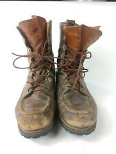 Vintage RED WING IRISH SETTER Sport Boots Size 8.5 C (Narrow) Motorcycle