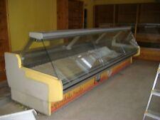 Bancone refrigerato banco frigo usato 3,5 mt. + accessori vari vedi descrizione