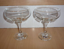 Pair of Attractive Cocktail Glasses/Sundae Dishes