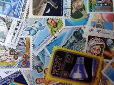 Thematic pack of 100 Space/Rockets mainly MNH & CTO FREE DELIVERY