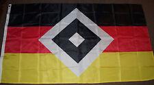 Fußball-Fahnen/Wimpel Fan-Hamburger SV-Motiv