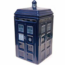 Doctor Who Tardis Ceramic Cookie Jar, DR189 | For Biscuit Cookies Sweets