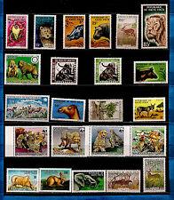 TCHAD Animaux sauvages , lions,éléphant,guépard,babouins,hippopotame, K2-23