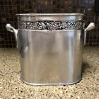 Vintage+Pottery+Barn+Silver+Plated+Divided+Wine+Bottle+Holder%C2%A0