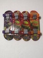 McDonald's Teenage Mutant Ninja Turtles TMNT Skateboards Lot Of 4 Clean