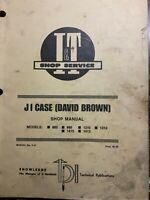 JI Case David Brown Models 885,995,1210,1212,1410,1412 Shop Manual
