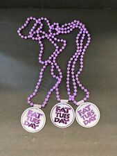 VINTAGE 'FAT TUESDAY' LOT OF (3) BEADED NECKLACES!!! GREAT CONDITION!! (SRNM)