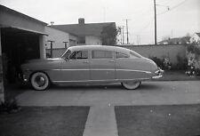Hudson Hornet Four Door Sedan - c1952 - Vintage B&W Car Negative