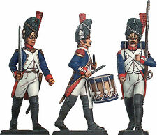 Prince August 54mm French Napoleonic Infantry Soldiers molds moulds PA80-1