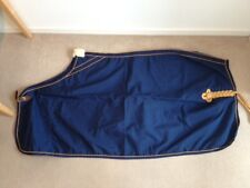 """Navy and Gold Equiport Cordura Show Sheet - 6ft6"""""""