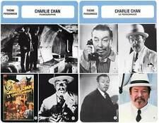 FICHE CINEMA x2 : CHARLIE CHAN AU CINEMA (Bio/Filmo) Earl Derr Biggers
