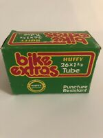 """Vintage Huffy """"bike Extras"""" 26x1 3/8 Tube In The Box"""