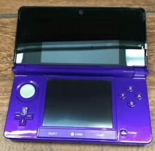 NINTENDO 3DS CONSOLE CTR-001 MIDNIGHT PURPLE W/O CHARGER