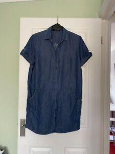 Allsaints Ladies Shirt/dress Size UK 12